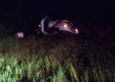 Capivara na pista causa acidente na BR-282 em Campos Novos