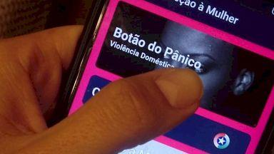 PMSC Cidadão: homem é preso após acionamento do botão de pânico