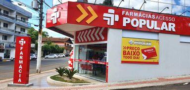 Farmácia Acesso Popular inaugura sua primeira franquia na região