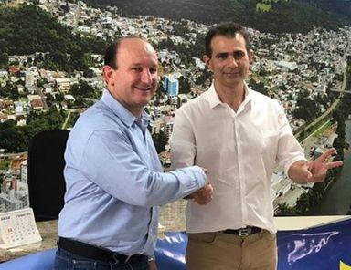 Mauro Martini é eleito como prefeito em Herval d' Oeste