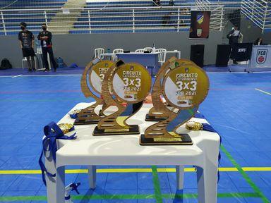 Etapa Oeste do Circuito Catarinense de Basquete 3x3 reuniu 33 equipes em Joaçaba