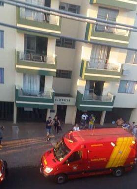 Criança de 1 ano e 7 meses cai de 4º andar de prédio e é socorrida apenas com ferimentos leves no Paraná